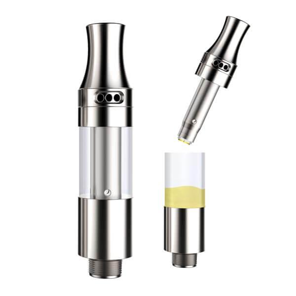 THC & CBD oil cartridge liberty V9