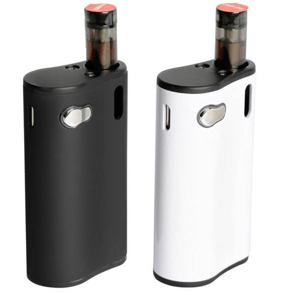 ecig box mod white and black